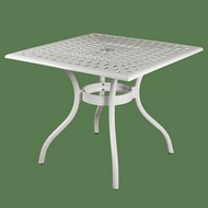 Стол для сада Lotus Square Table white