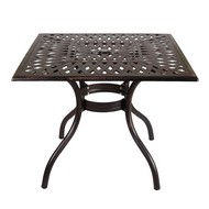 Стол для сада Lotus Square Table bronze